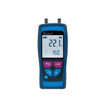 Blauwe Lijn drukverschilmeter S2601, ind/aanduiding dig