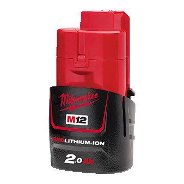 Milwaukee accupack el gereedschap, nom. 12V, capaciteit 2Ah