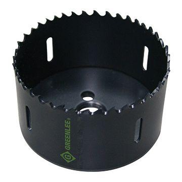 Greenlee gatzaag, 63mm, snijdiepte 41.3mm, diam centreerboor 11.1mm