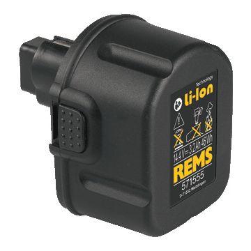 Rems accupack el gereedschap, nom. 14.4V, capaciteit 3.2Ah
