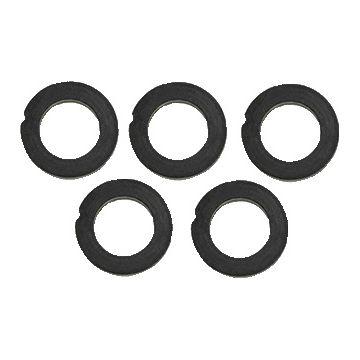 Hasmi pakkingring platte afd ring, rubber, zwart, bu diam 18mm