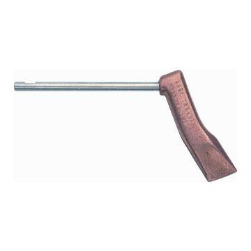 Sievert koperstuk voor soldeerbout penbout Pro, roodkoper, hamervormig