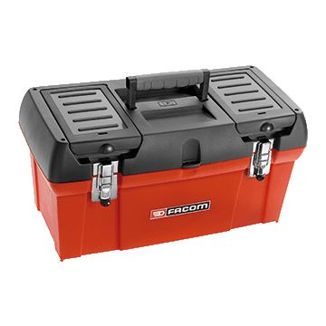 Facom gereedschapkist/tas koffer, kunststof, rood, (hxbxd) 248x493x256mm