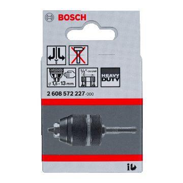 Bosch boorhouder, SDS-plus, spanbereik 1.5-13mm, re en linksom