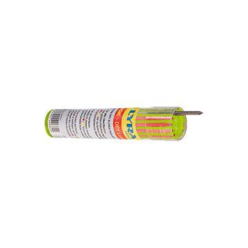 Lyra navulling markeerpotlood, groen/wit/bl, bestand tegen water