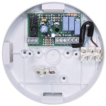 Ei Electronics opbouwsokkel rookmelder, wit, aansluiting voor nevensignalering