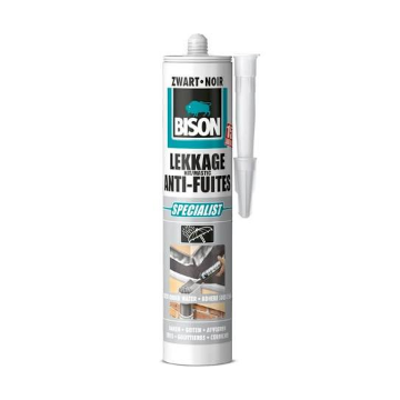 Bison afdichtingsmiddel Lekkage, zwart, uitvoering asfaltbitumen/elastomeren