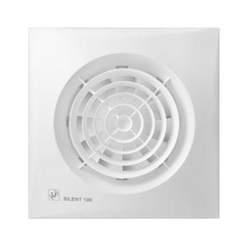 Soler & Palau Silent 100 badkamer-/toiletventilator, wit