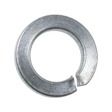 A.S.F. Fischer veerring, staal, elektrolytisch verzinkt, voor boutmaat (M.) 4, norm A2 DIN 127-B