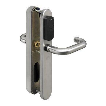 Lips deurbeslag met toegangscontrole Smartair, RVS (RVS), uitvoering schild