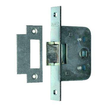 Nemef deurslot loopslot 55-50mm, binnendeur, deur li & rechtsdraaiend