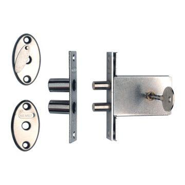 Nemef deurslot bijzetslot 1008, buitendeur, deur li & rechtsdraaiend