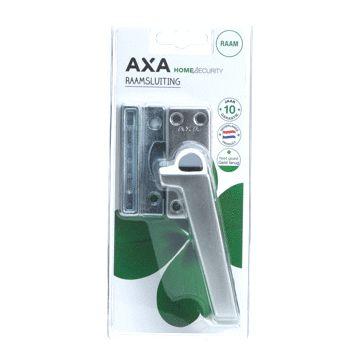 Axa raamsluiting oplengteg, aluminium, rechts, vergrendeling drukknop, geëloxeerd