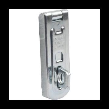 ABUS hangslot overval slot 100, staal verzinkt, diam beugel 9mm