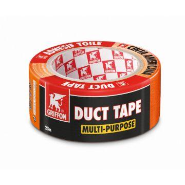 Griffon zelfklevende tape, vinyl, oranje, (lxb) 25mx48mm, UV-bestendig