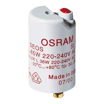Osram starter verl Starter, voor TL lamp, voor lampverm 30-65W