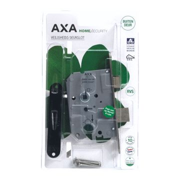 Axa deurslot veiligheidsslot, buitendeur, deur links & rechtsdraaiend