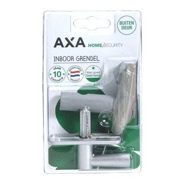 Axa insteekgrendel, staal, F1-zilver, doornmaat 50mm