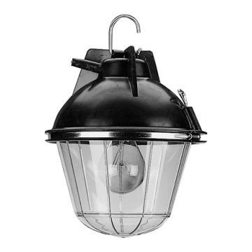 Meyer bouwlamp UNI Economy, rubber/kunststof, zwart, lamptype std lmp