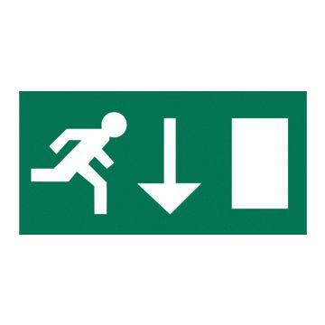 Van Lien pic noodverlichting Optilux P, polycarb, betekenis pic vluchtweg
