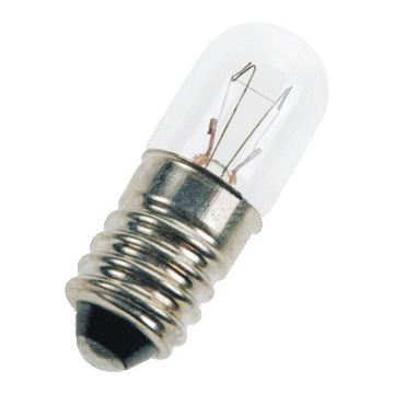Bailey ind- en signaleringslamp, diam 10mm, lampsp 12V, voet E10