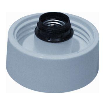 Corodex schroefrand recht, 60W, lamph E27, centr ophanging, hoog model