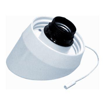 Corodex schroefrand schuin (hoek), 60W, lamph E27, centr ophanging