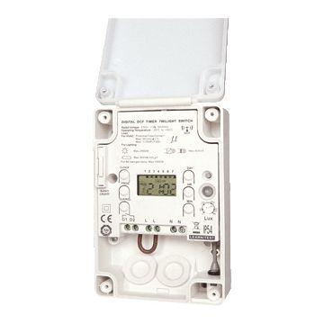Klemko Lightguard schemerschakelaar 230V, IP55,kunststof, wit