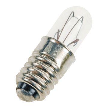 Bailey ind- en signaleringslamp, diam 5.7mm, lampsp 12V, voet E5/8