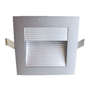 Lumiko wandarmatuur inbouw Lugo, verl arm wandstRALer, lamptype LED, 2.3W