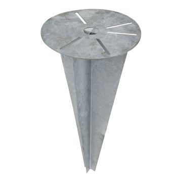 KS Verlichting mechanische toebehorentuin-/voetpadverl.arm. ALGEMEEN, staal, aluminium, le 500mm