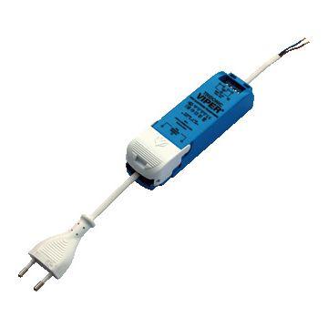 Tridonic trafo laagvolt lichtsysteem Viper set, bl, (lxbxh) 141x40x29mm