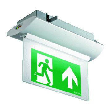 Van Lien Optilux IL noodverlichtingsarmatuur, (lxb) 364x167mm functionaliteit