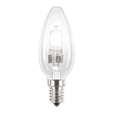 Philips hoogvolt halogeenlamp z refl EcoClassic, 36mm, 42W, lampsp 230V
