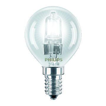 Philips hoogvolt halogeenlamp z refl EcoClassic, 46mm, 18W, lampsp 230V