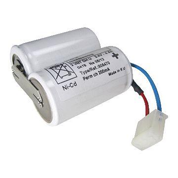 Famostar elektrisch toebehoren noodverlichting Flow, uitvoering accu, 2 aders, nom. diam 1mm²