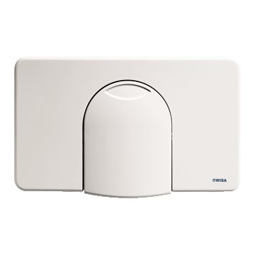 Wisa bedieningspaneel closet/urinoir 2100, kunststof chroom mat