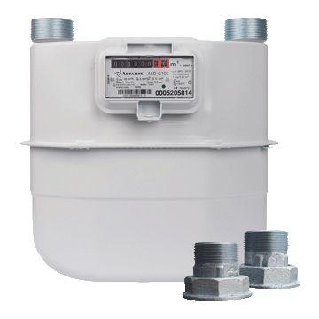 """Itron balg gasmeter G 10 G, 1.1/4"""", (hxbxd) 360x333x219mm, huis plaatstaal"""