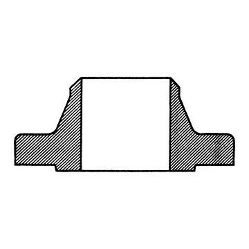 Tkf vaste flens, staal, uitwendige buisdiameter 60.3mm, C 22.8