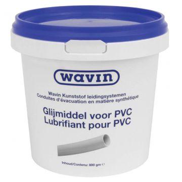 Wavin glijmiddel, netto 800g, toepasbaar op PVC-U/PE/GVK