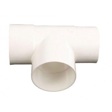 Wavin HWA fitt -buis T-stuk, PVC, wit, 80mm,