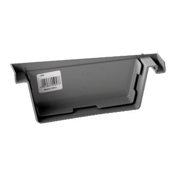 Pipelife kopschot dakgoot Eslon, grijs, di 55mm, goot PVC