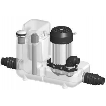 SFA Sanibroyeur vuilwaterpompunit Sanicom 1, 430x230mm, reservoir kunststof