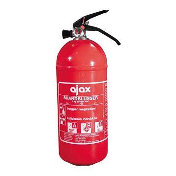 Ajax brandbl, vulling poeder, netto 2kg, met oph bgl, druk constant