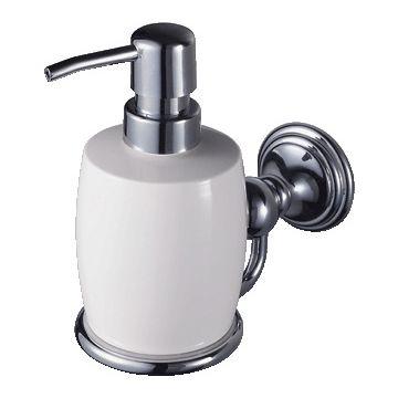 Haceka zeeph dispenser Allure, met, chroom, (hxbxd) 161x78x172mm, verchroomd
