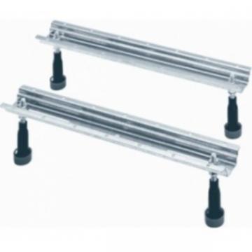 Wisa badondersteuning, staal, (lxbxh) 500x50x150mm, badpoten