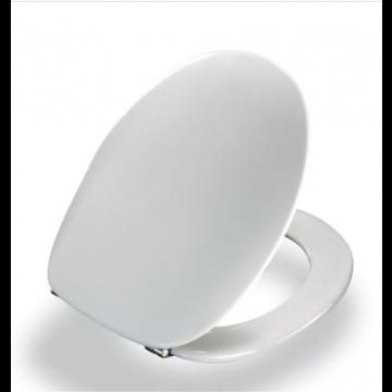 Pressalit closetzitting 2000, wit, met deksel, voor universele closet