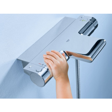 GROHE douchemengkraan opbouw New Grohtherm 2000 Cool Touch, chroom, wand