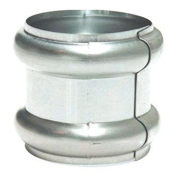 Rheinzink wrong Walsblank, zink, uitwendige buisdiameter 60mm, schuifwrong
