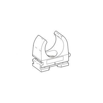 Don Quichotte drukzadel Ø 18-19mm, grijs